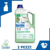 DETERGENTE GREEN POWER PAVIMENTI (2 PZ x 5 KG)