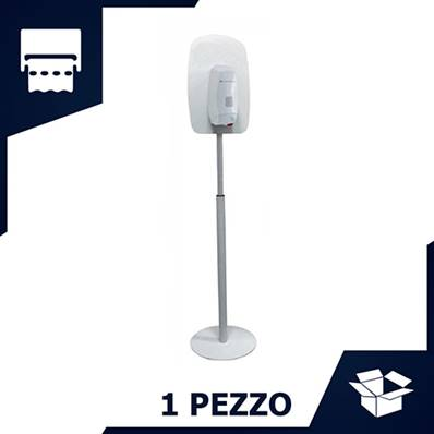 PIANTANA DISPENSER SAPONE E GEL LAVAMANI (1 PZ)